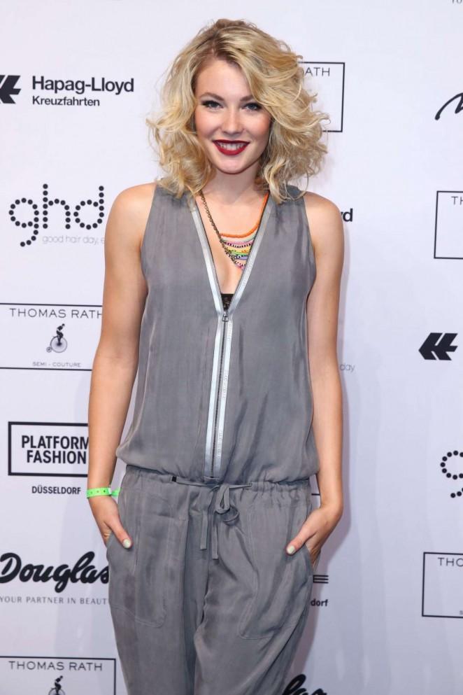 Amelie Klever - Thomas Rath Show During Platform Fashion in Dusseldorf