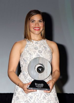 America Ferrera - 2017 National Association Of Broadcasters Convention in Las Vegas