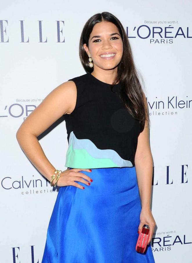 America Ferrera - 2015 ELLE Women in Hollywood Awards in LA