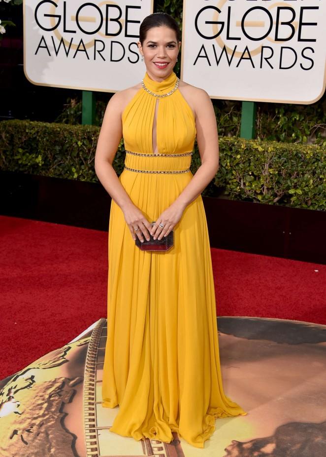 America Ferrera - 2016 Golden Globe Awards in Beverly Hills