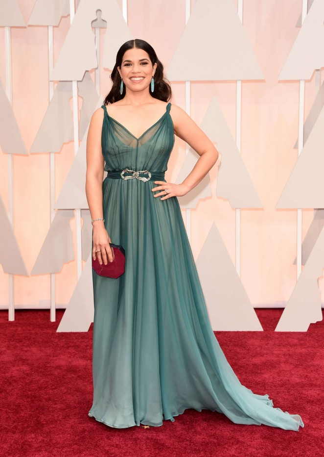 America Ferrera - 2015 Academy Awards in Hollywood