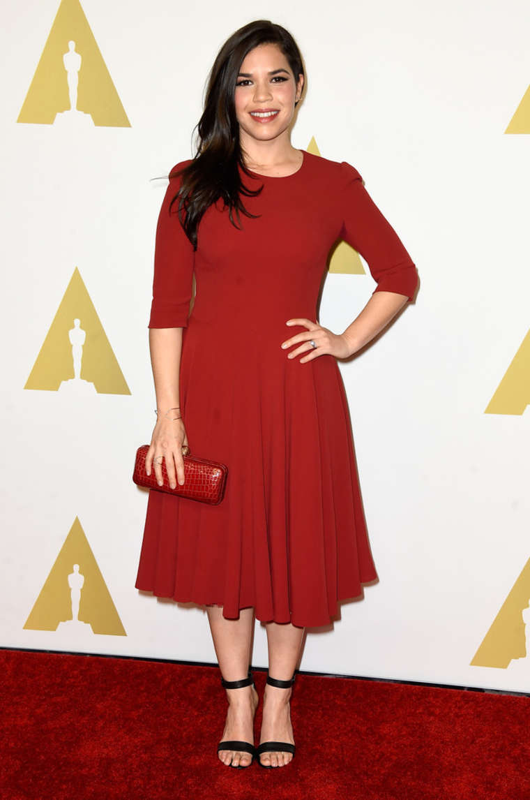 America Ferrera - 2015 Academy Awards Nominee Luncheon in Beverly Hills