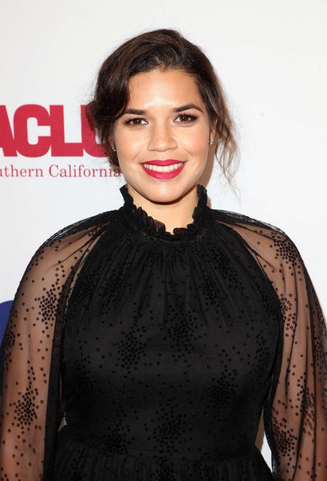 America Ferrera - ACLU Bill of Rights Dinner in Los Angeles