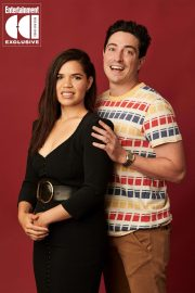America Ferrera and Ben Feldman - Superstore Comic Con Portraits for Entertainment Weekly (July 2019)