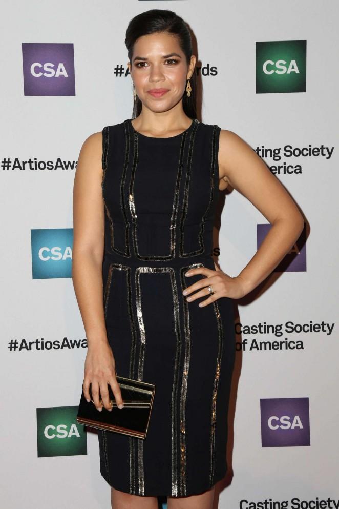 America Ferrera - Casting Society Of America's 31st Annual Artios Awards in Beverly Hills