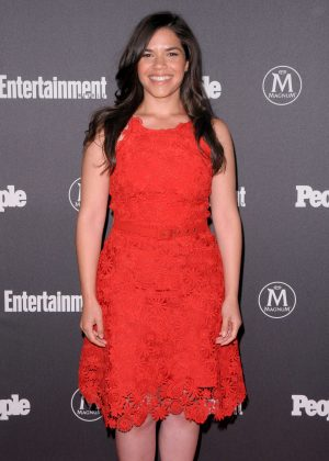 America Ferrera -Entertainment Weekly and People Upfronts Party 2016 in NY
