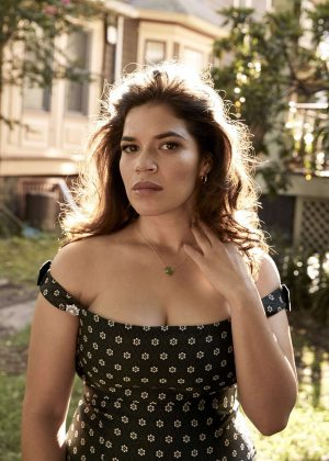 America Ferrera for The Edit by Net-A-Porter (October 2018)