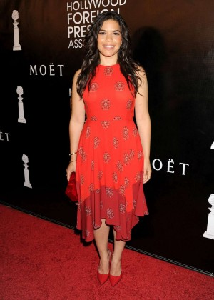 America Ferrera - 2015 HFPA Hosts Annual Grants Banquet in NYC