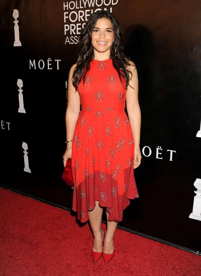America Ferrera - 2015 HFPA Hosts Annual Grants Banquet in NYC