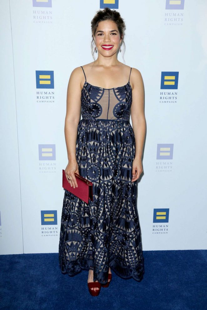 America Ferrera - Human Rights Campaign Gala Dinner 2017 in Los Angeles