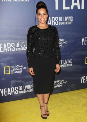 America Ferrera - National Geographic's Years Of Living Dangerously Premiere in New York