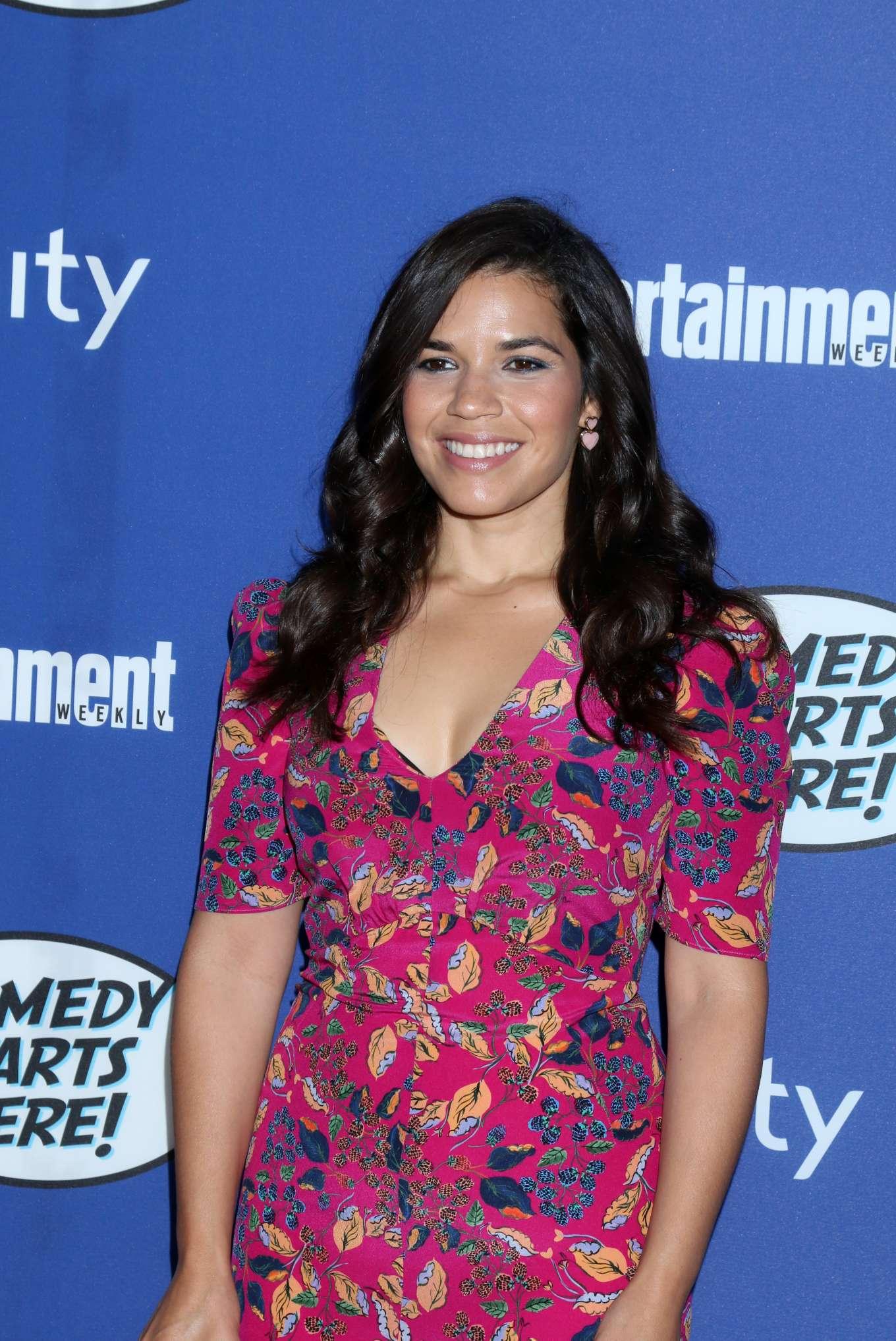 America Ferrera - NBC Comedy Starts Here Event in Los Angeles