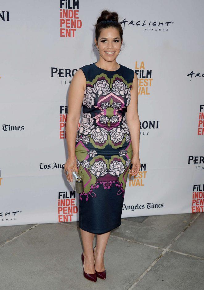 America Ferrera - 'Paint It Black' Premiere at 2016 Los Angeles Film Festival in LA