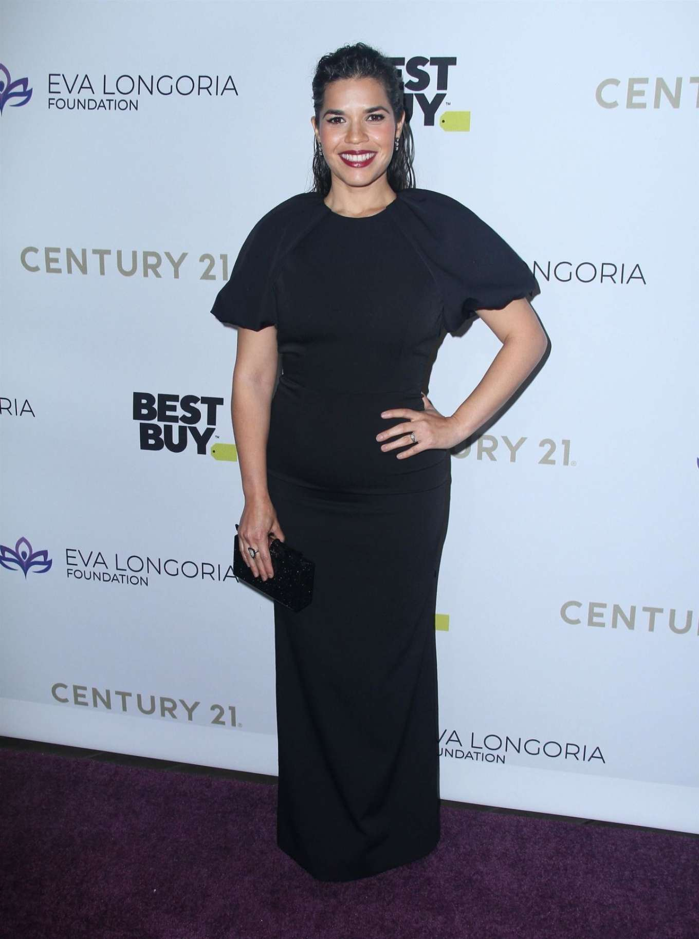 America Ferrera 2019 : America Ferrera – The Eva Longoria Foundation Gala in Los Angeles-01