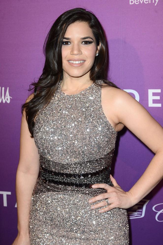America Ferrera - The Hollywood Reporter's 2015 Nominees Night in LA
