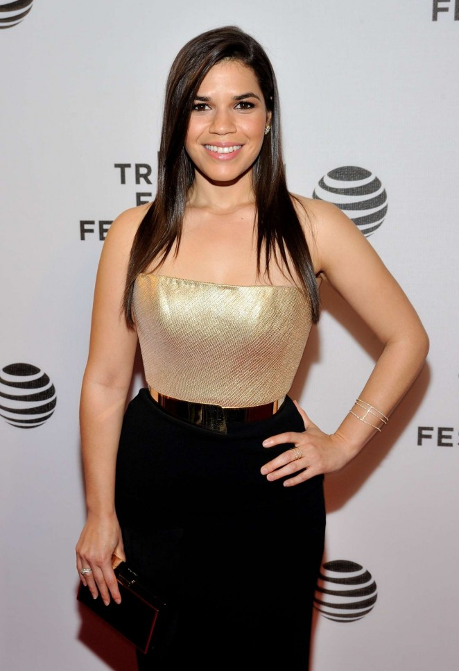 America Ferrera - Tribeca Talks After The Movie Special Correspondents at 2016 TFF in NY