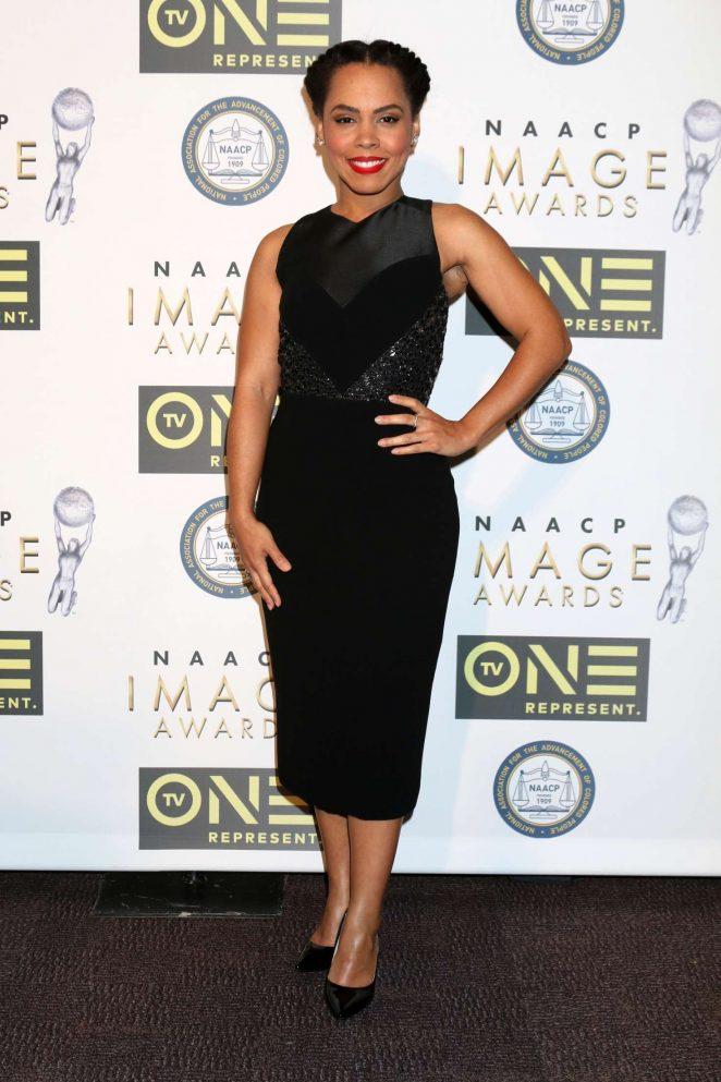 Amirah Vann - Non-Televised 48th NAACP Image Awards in Pasadena