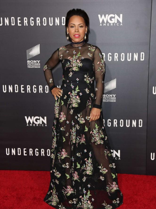 Amirah Vann – 'Underground' Premiere in LA