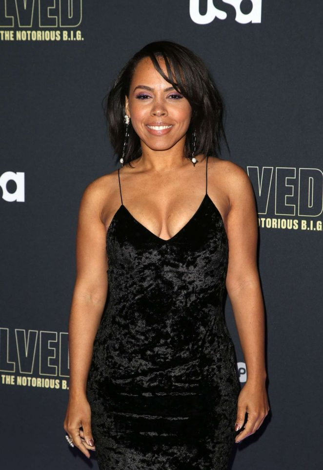 Amirah Vann - 'Unsolved The Murders of Tupac and The Notorious B.I.G.' Premiere in LA