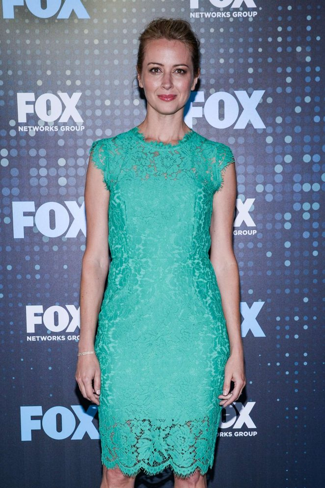 Amy Acker - 2017 FOX Upfront in NYC