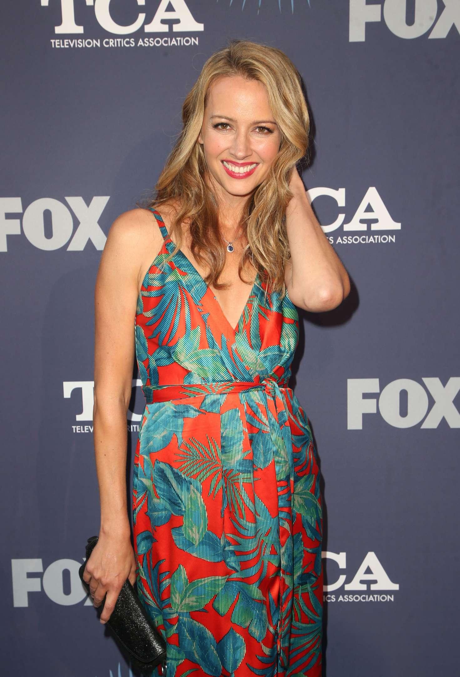 Amy Acker - 2018 FOX Summer TCA 2018 All-Star Party in LA