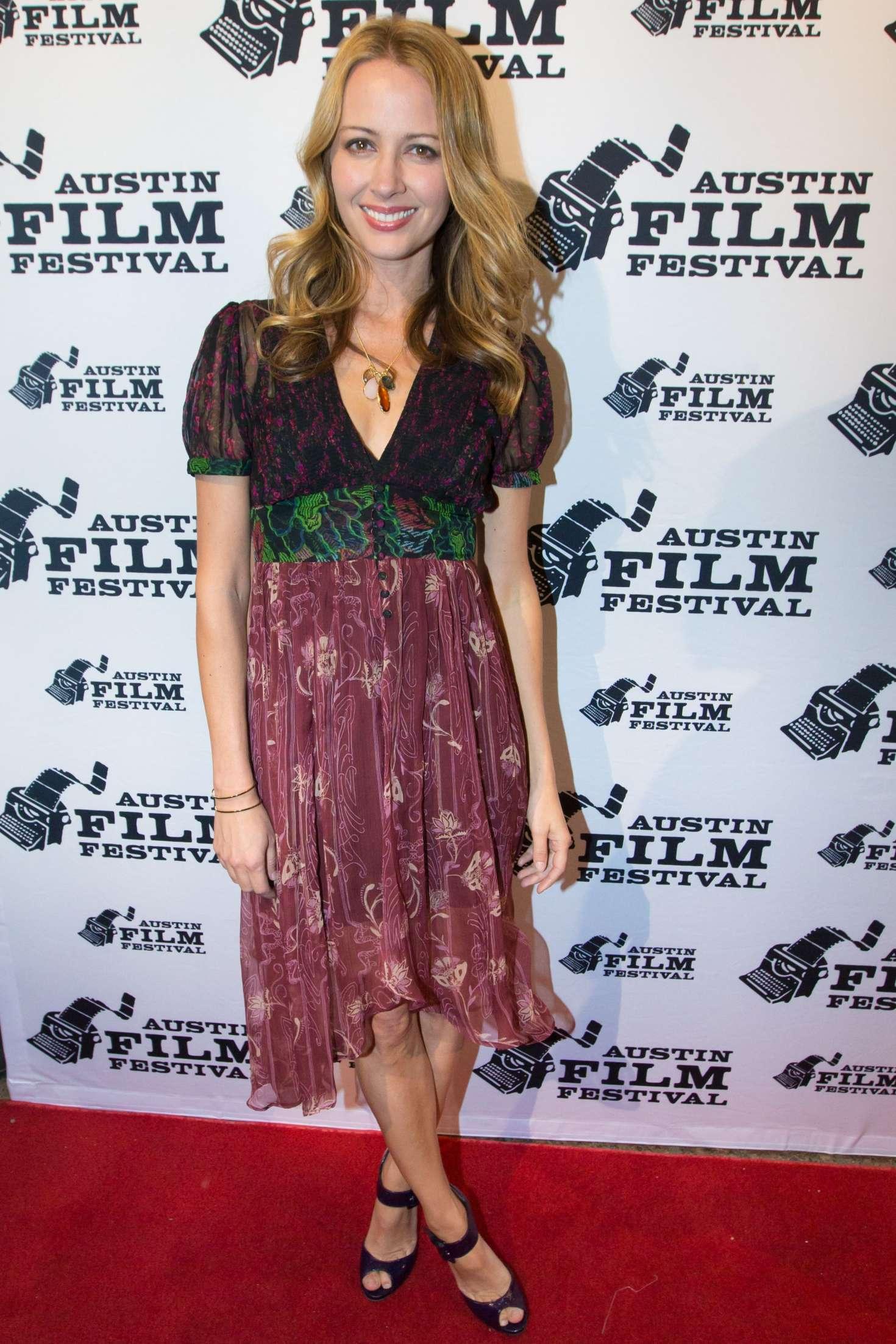Amy Acker - 'Amanda and Jack Go Glamping' Premiere at Austin Film Festival