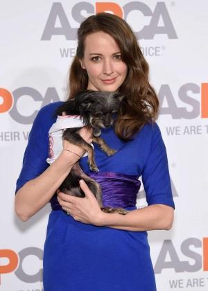 Amy Acker - 2015 ASPCA'S Bergh Ball in NYC