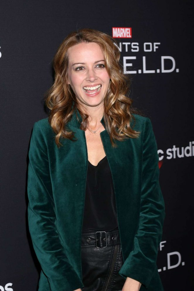 Amy Acker - 'Marvel's Agents of S.H.I.E.L.D.' 100th episode celebration in Hollywood