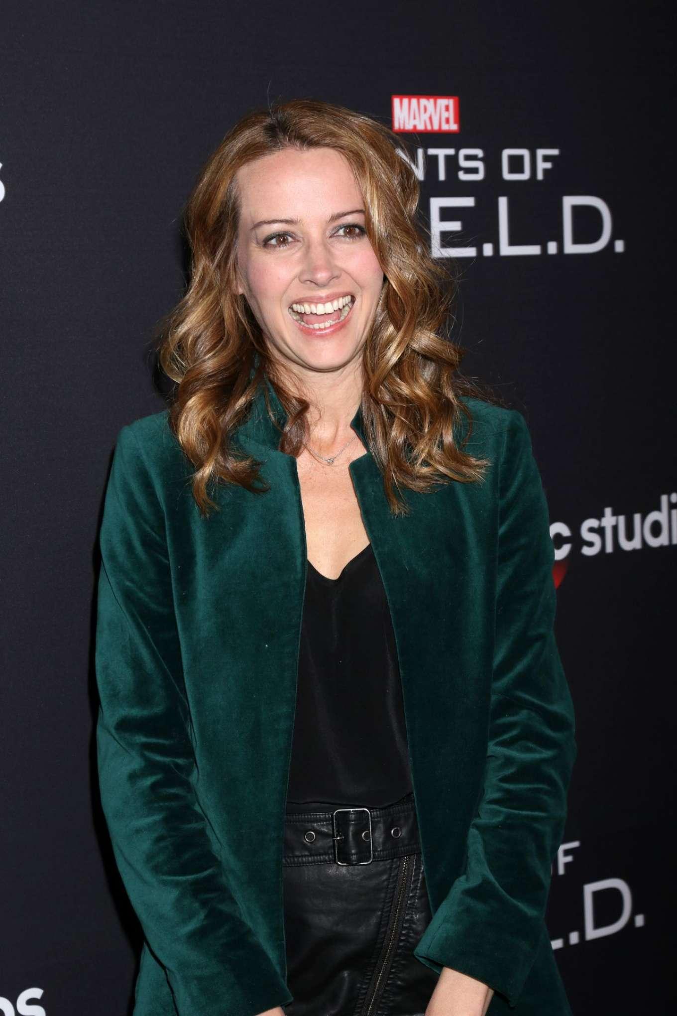 Amy Acker - 'Marvel's Agents of S.H.I.E.L.D.' 100th episode celebration in Hollywood