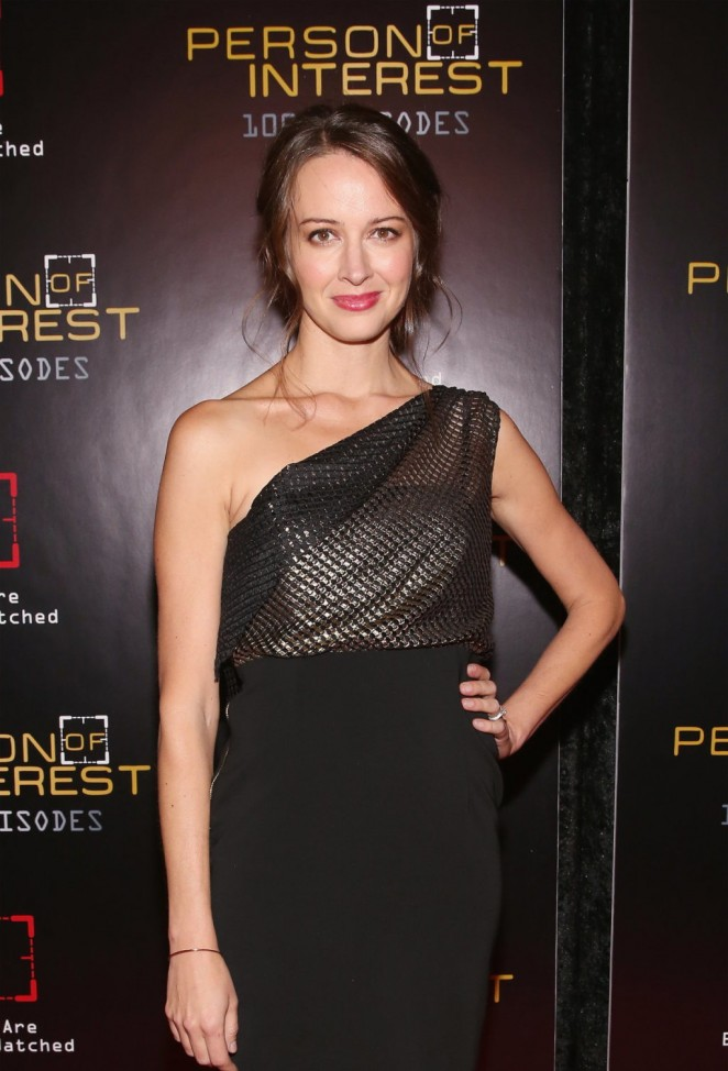 Amy Acker - Person Of Interest 100th Episode Celebration in NY