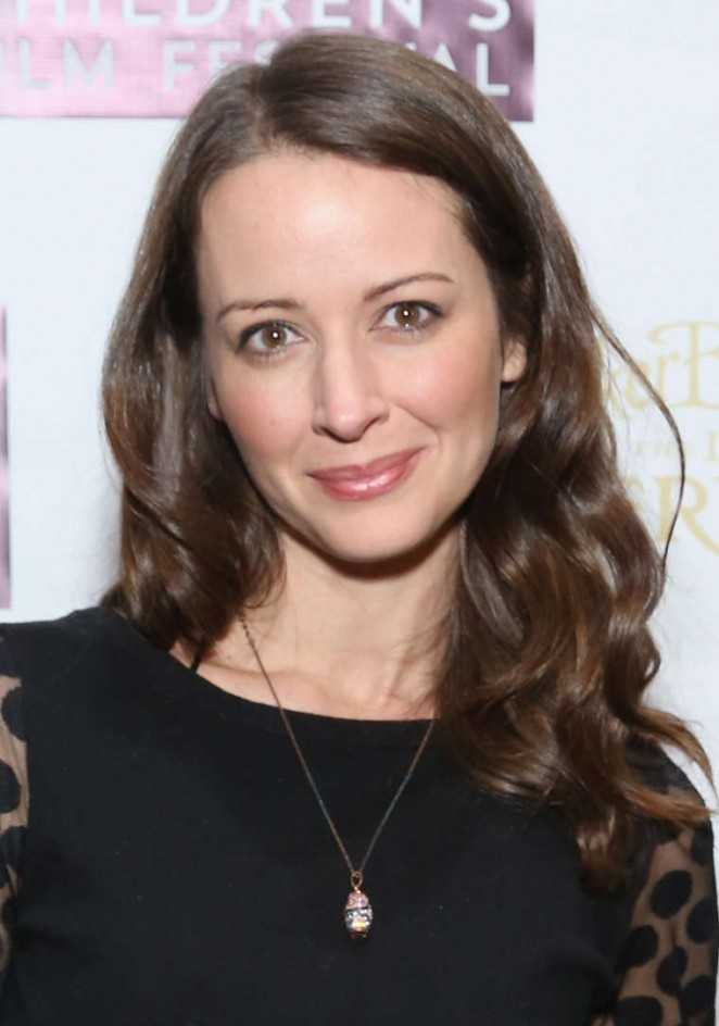 """Amy Acker - """"Tinker Bell and the Legend of the NeverBeast"""" Screening in NYC"""