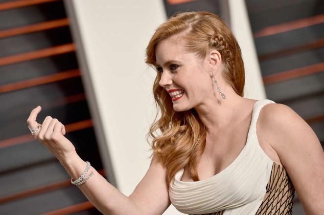 Amy Adams: 2016 Vanity Fair Oscar Party -13 - GotCeleb Amy Adams Vanity Fair Photoshoot