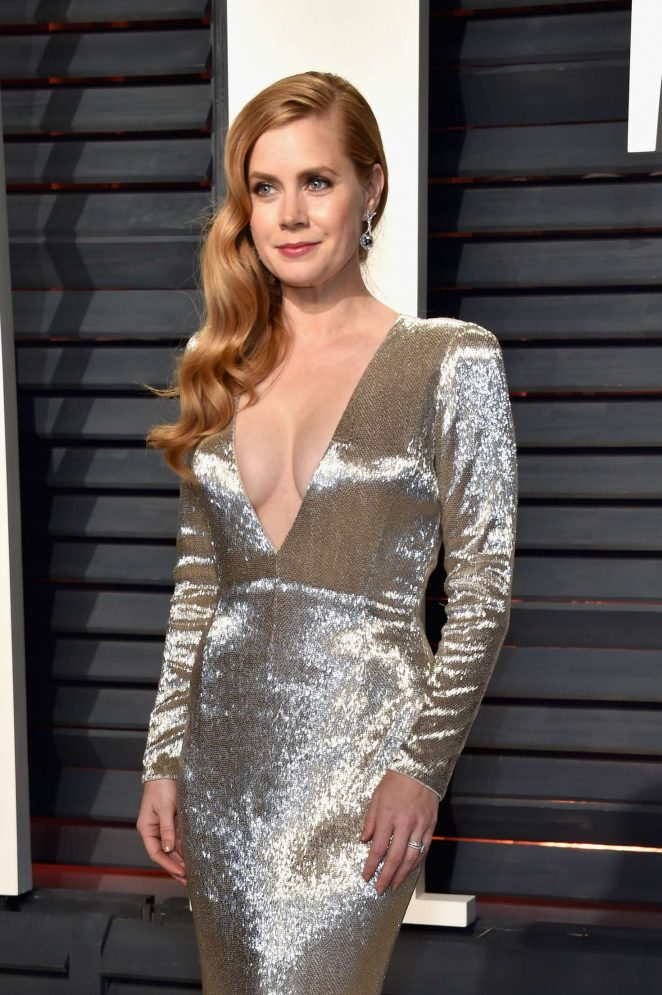 Amy Adams: 2017 Vanity Fair Oscar Party -01