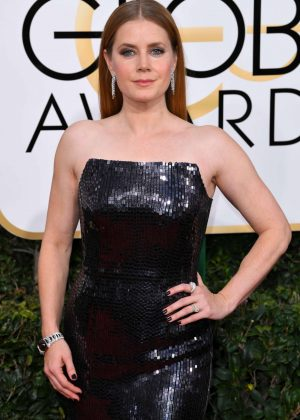 Amy Adams - 74th Annual Golden Globe Awards in Beverly Hills