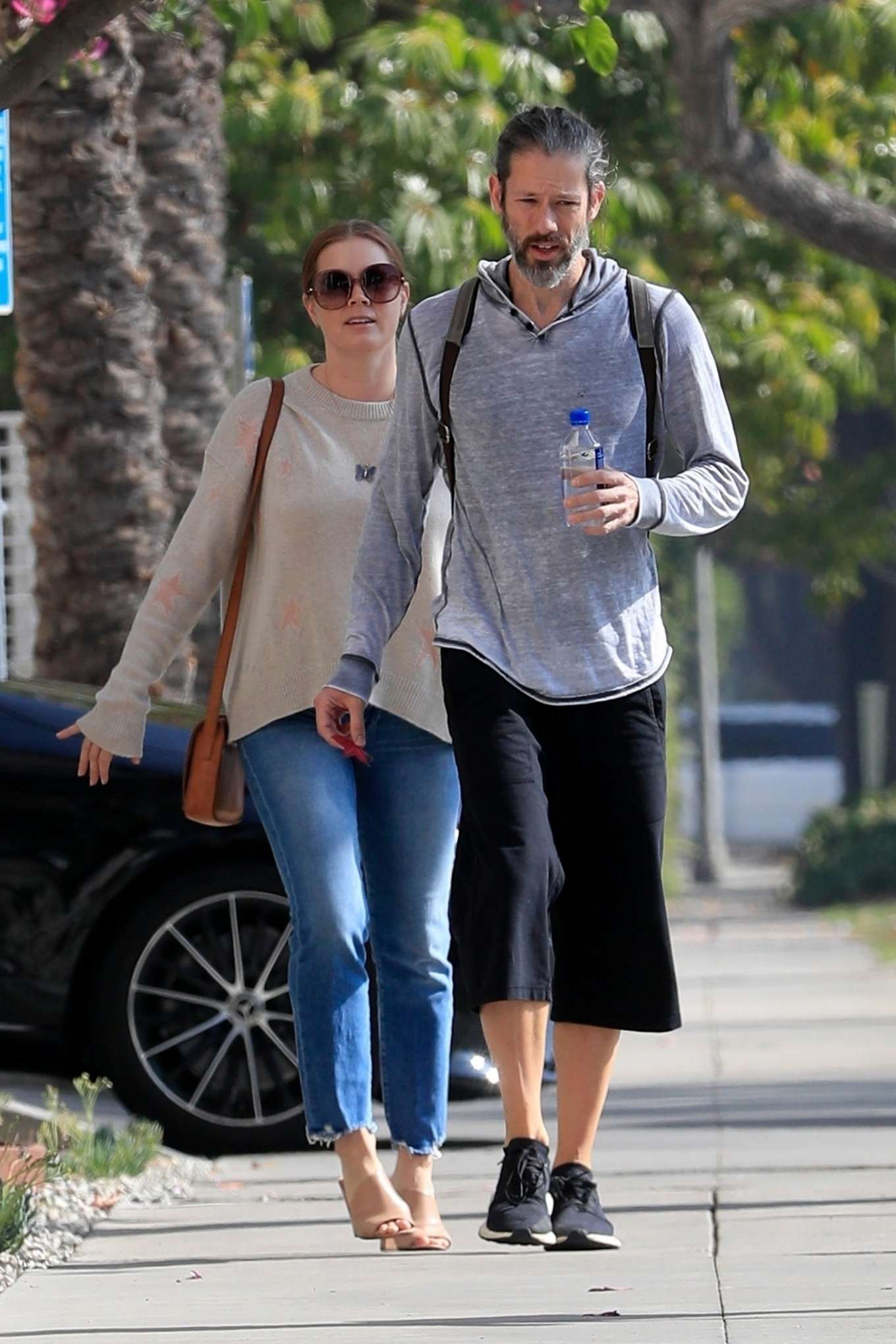 Amy Adams 2019 : Amy Adams and her husband Darren Le Gallo – Out in Beverly Hills-04