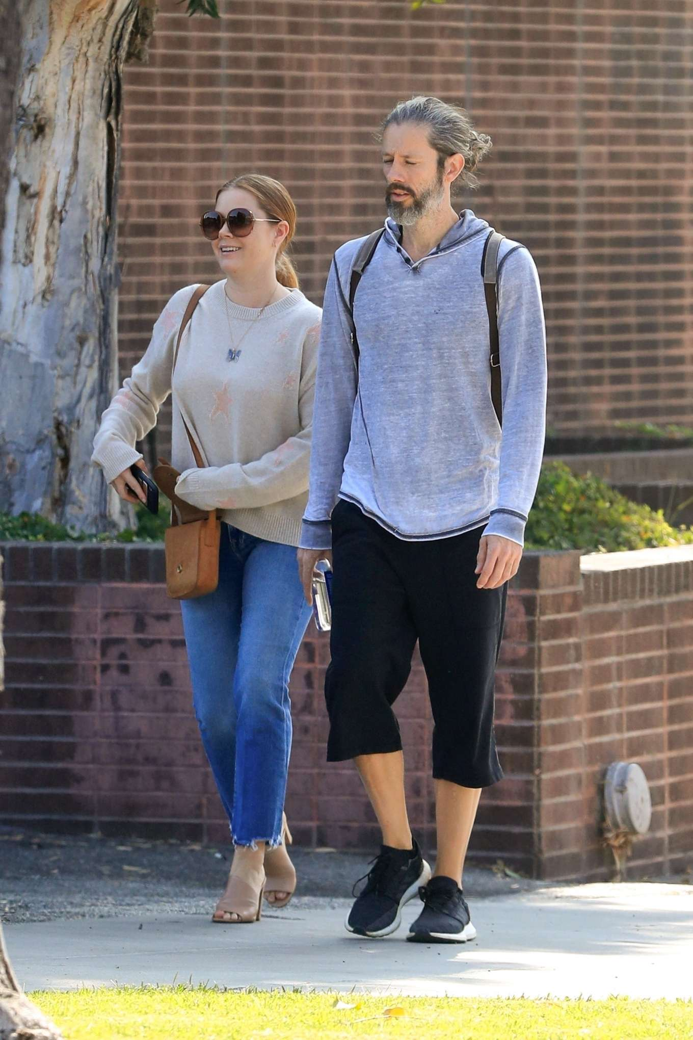 Amy Adams 2019 : Amy Adams and her husband Darren Le Gallo – Out in Beverly Hills-09