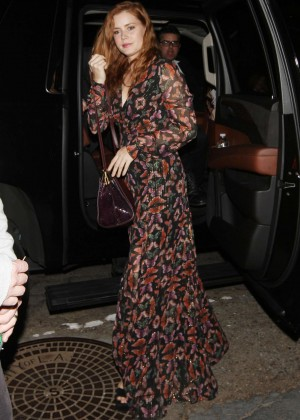 Amy Adams - Arriving to a Private House Party in West Hollywood
