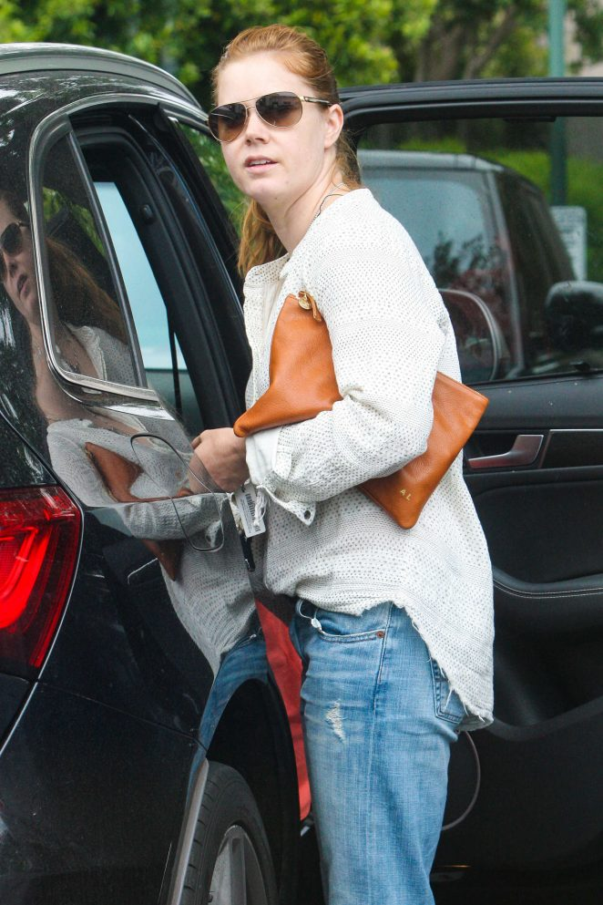 Amy Adams at Bristol Farms in Beverly Hills