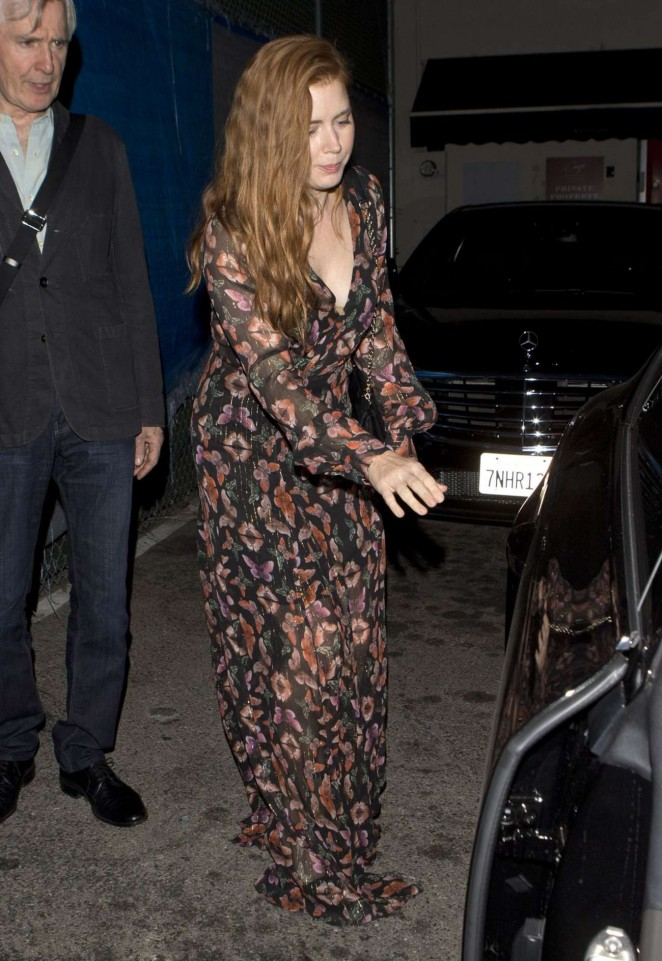 Amy Adams at Craig's Restaurant in West Hollywood