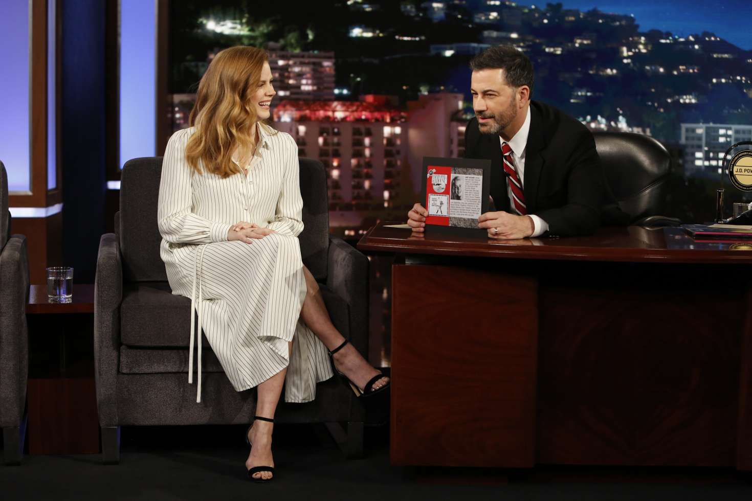 Amy Adams 2018 : Amy Adams at Jimmy Kimmel Live -02