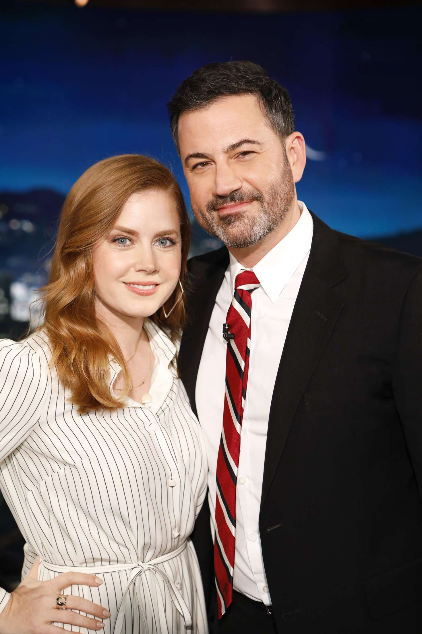 Amy Adams 2018 : Amy Adams at Jimmy Kimmel Live -03