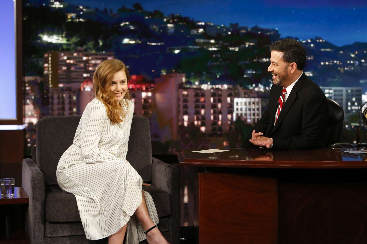 Amy Adams 2018 : Amy Adams at Jimmy Kimmel Live -06