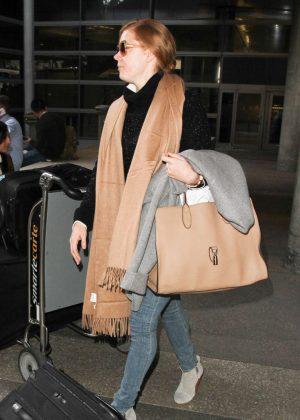 Amy Adams at LAX Airport in LA