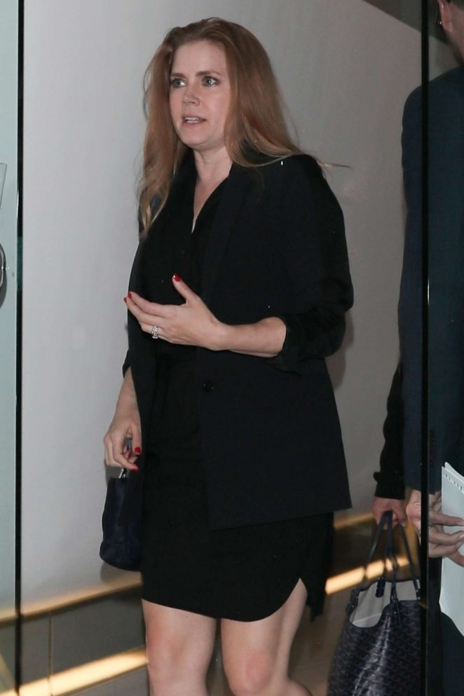 Amy Adams at Mr Chow in Beverly Hills