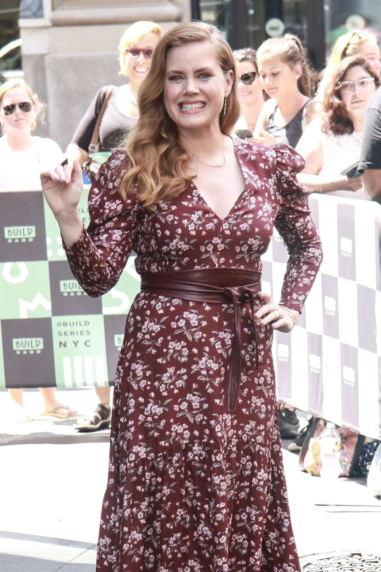 Amy Adams at the AOL Build Series in New York City