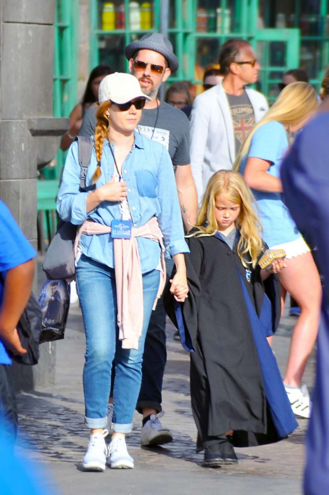 Amy Adams at Universal Studios in Los Angeles