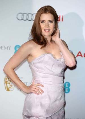 Amy Adams - EE British Academy Awards Nominees Party 2015 in London