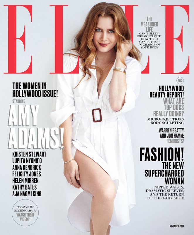Amy Adams - ELLE US Cover (November 2016)