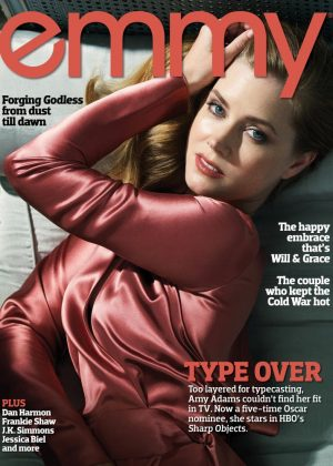 Amy Adams - Emmy Magazine (July 2018)