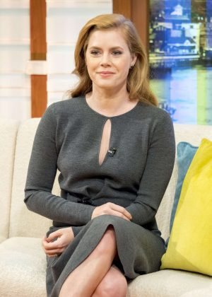 Amy Adams - 'Good Morning Britain' TV show in London
